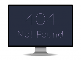 404 Not Found Error Image