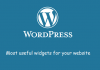 Most Useful Widgets in WordPress Image