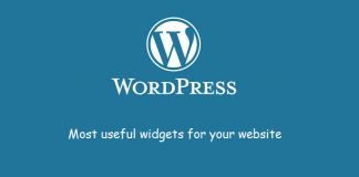 Most Useful Widgets in WordPress Image